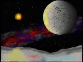 Space artwork by Earl Green
