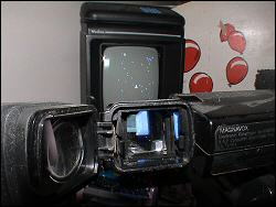 The old camcorder vs. the Vectrex