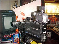 The old camcorder vs. the new camcorder