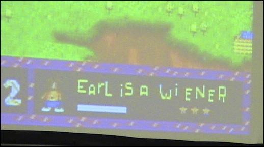 Toejam.  Earl.  OEGE.  Yeah.