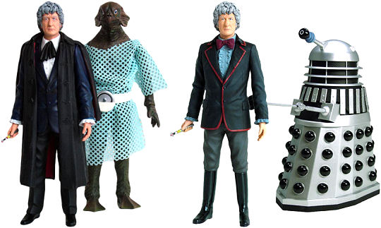Doctor Who third Doctor figures