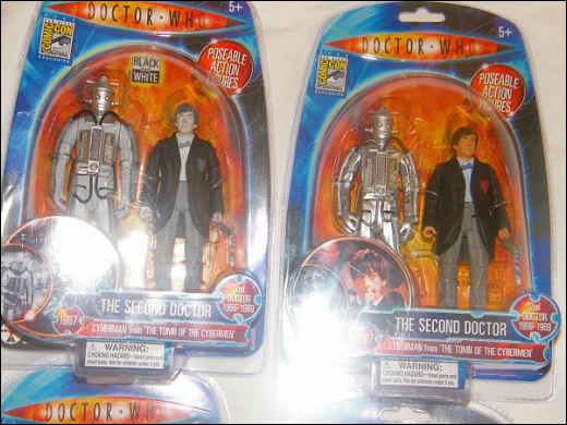 Second Doctor Figures