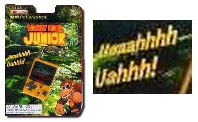 Donkey Kong Junior UAAAHHHHH!