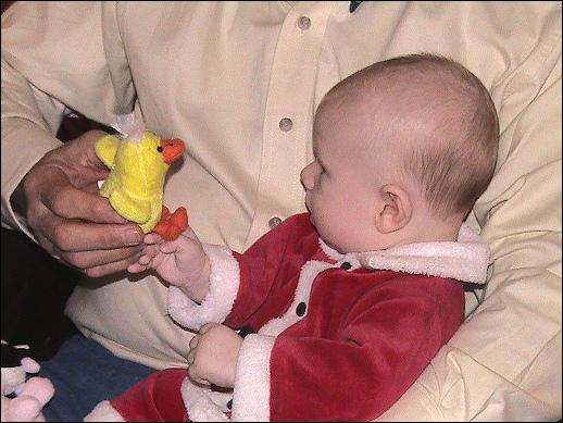 Evan's first Christmas