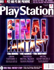 Official Playstation Magazine - August 2001
