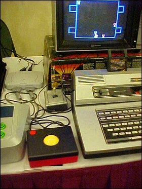 My first encounter with the Odyssey2 trackball