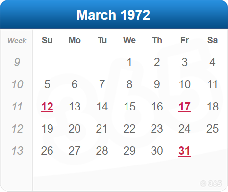 March 1972