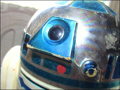 Star Wars R2-D2 - photos copyright 2007 Earl Green / theLogBook.com special thanks to Andrew Wester