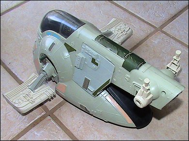 Star Wars Slave I - photos copyright 2007 Earl Green / theLogBook.com; special thanks to Andrew Wester