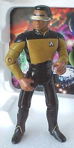 Star Trek: The Next Generation action figures - photo copyright 1999 Earl Green / theLogBook.com