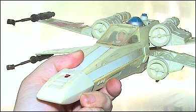 Star Wars X-Wing Fighter - photos copyright 2006 Earl Green / theLogBook.com - special thanks to Andrew Wester