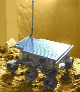 Hot Wheel Sojourner Mars Rover - photo copyright 1999 Earl Green / theLogBook.com