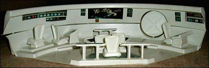 Star Trek The Motion Picture Bridge Playset - photos copyright 2005 Pat Roeling / reprinted with permission by theLogBook.com