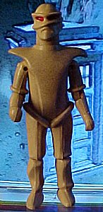 Doctor Who action figures - photo copyright 1999 Earl Green / theLogBook.com