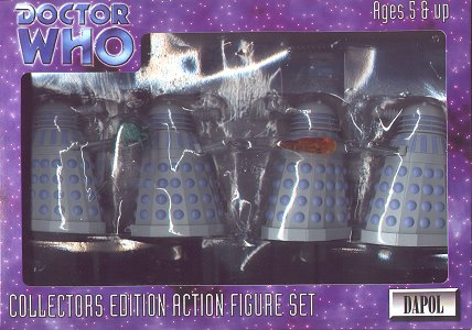 Early Daleks boxed set - photo copyright 2000 Earl Green / theLogBook.com