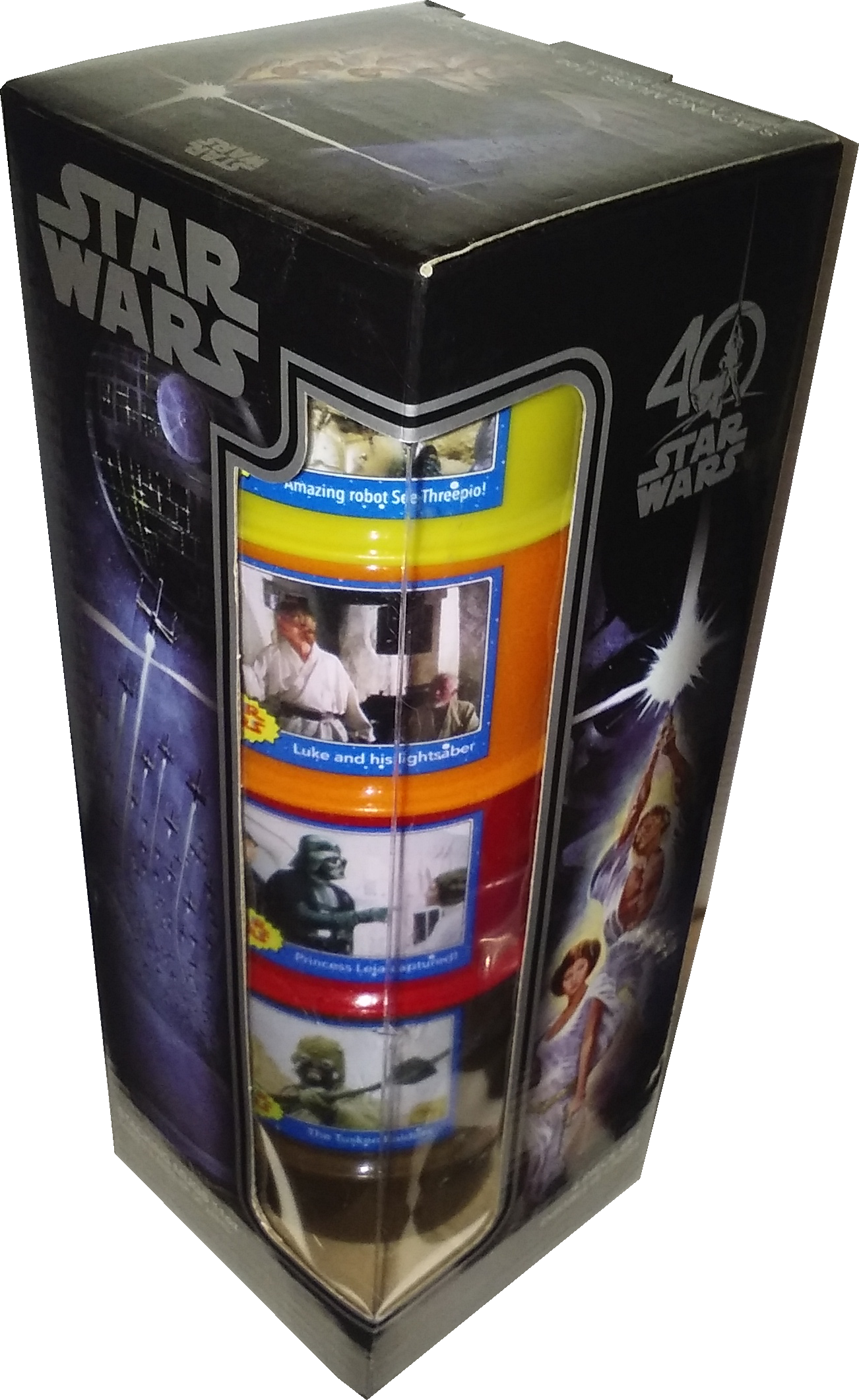 Star Wars 40th Anniversary: Stackable Trading Card Mugs